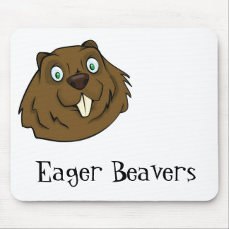 Eager Beaver Mouse Pad