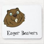 Eager Beaver Mousepad