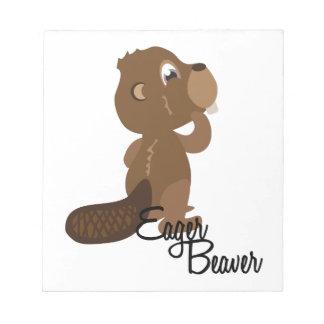 Eager Beaver Memo Notepads