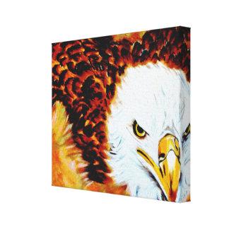 Eagle 1 lienzo envuelto para galerias