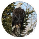 Eagle 3 round wall clock