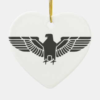 Eagle 5 ceramic ornament