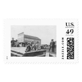 Eagle Alaska Trading Co & Kids 1908 Postage Stamp