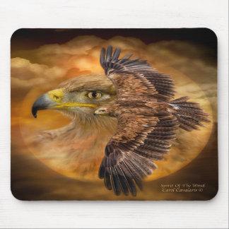 Eagle-Alcohol del arte Mousepad del viento Tapete De Ratones