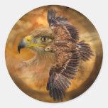 Eagle-Alcohol del pegatina del arte del viento