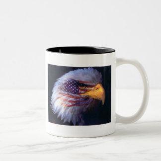 EAGLE & AMERICAN FLAG! 11oz MUG