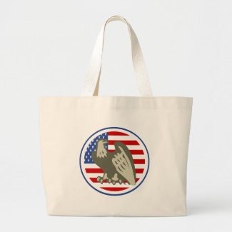 Eagle American Flag bag