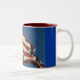 Eagle American Flag Coffee Cup Mugs