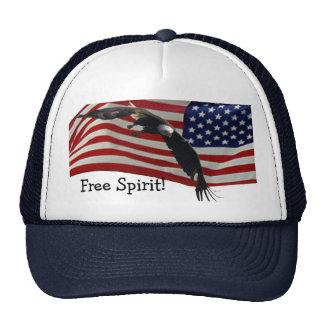 Eagle &  American Flag Hat
