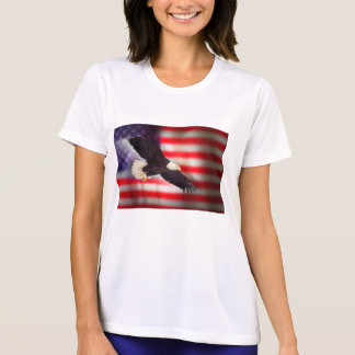 Eagle and American Flag T-Shirt