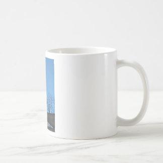 Eagle and Arrow Weather vane blue skys Coffee Mug
