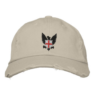 eagle and crest embroidered baseball hat