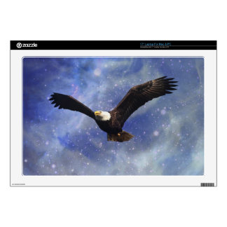 Eagle and fantasy sky decal for laptop