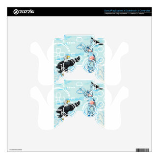 Eagle and Leaping Cow PS3 Controller Skin