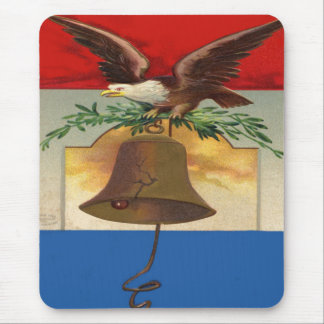 Eagle and Liberty Bell Mouse Pad