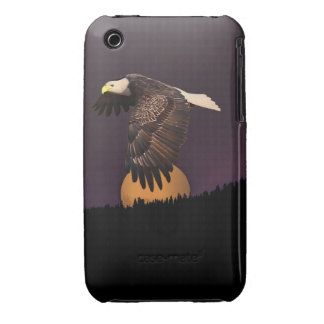 EAGLE AND MOON iPhone 3 CASES