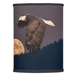 EAGLE AND MOON LAMP SHADE
