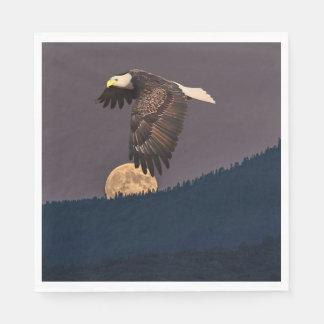 EAGLE AND MOON NAPKIN