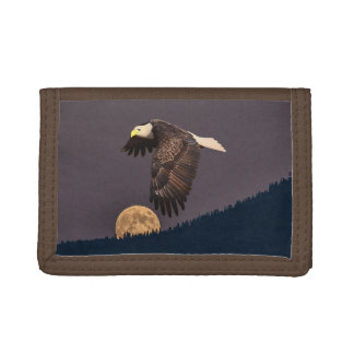 EAGLE AND MOON TRI-FOLD WALLETS