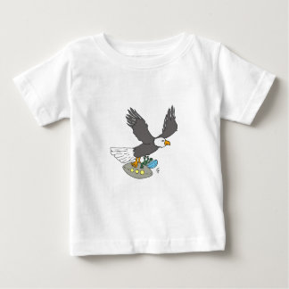 eagle and spaceship t-shirt