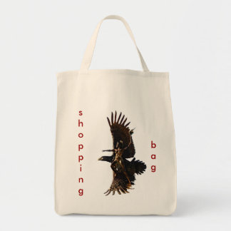eagle and warrior, tote back