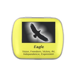 Eagle Animal Spirit Meaning Collectible Candy Tin