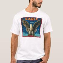 Eagle Apple Crate Label T-Shirt