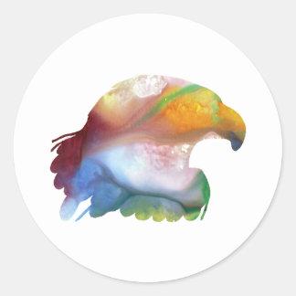 Eagle Art Classic Round Sticker