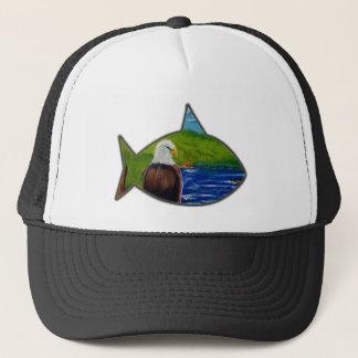 Eagle Art Trucker Hat