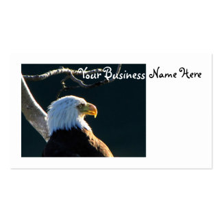 Eagle At Attention Business Card