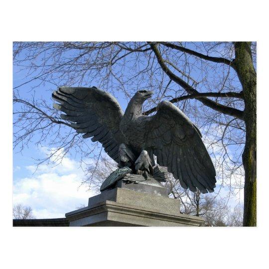 Eagle at HIghland Park, PA Postcard