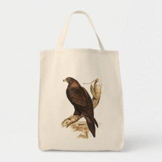 Eagle atado cuña australiana. Ave rapaz enorme Bolsa De Mano