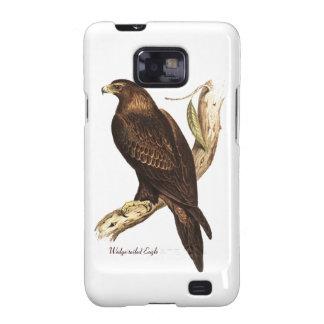 Eagle atado cuña. Un ave rapaz magnífica Samsung Galaxy S2 Funda