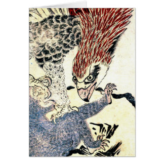 Eagle Attacking  Monkey 1772 Card