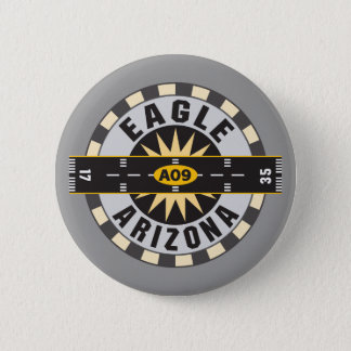 Eagle, AZ A09 Airport Pinback Button