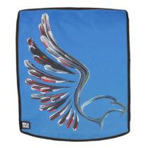 Eagle backpack face