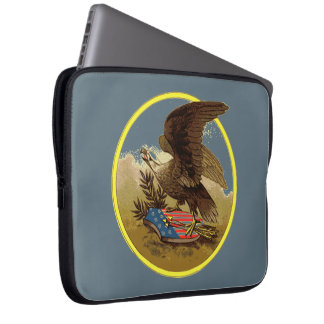 Eagle Badge Computer Sleeve