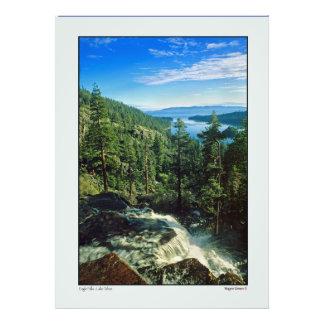 Eagle baja arriba el lago Tahoe Impresiones Fotográficas