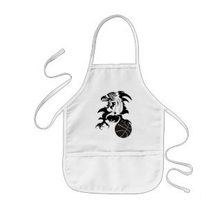 Eagle-Basketball-1-logo-1 Kids' Apron