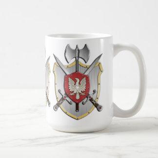 Eagle Battle Crest Coffee Mug