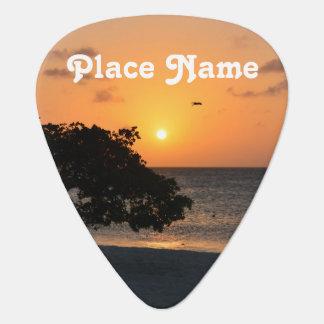 Eagle Beach Sunset Pick