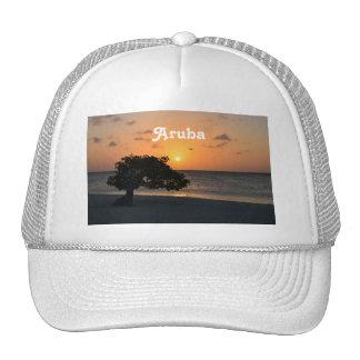 Eagle Beach Sunset Hats