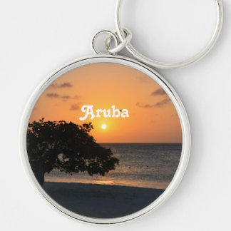 Eagle Beach Sunset Key Chains