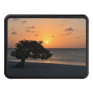Eagle Beach Sunset Tow Hitch Cover