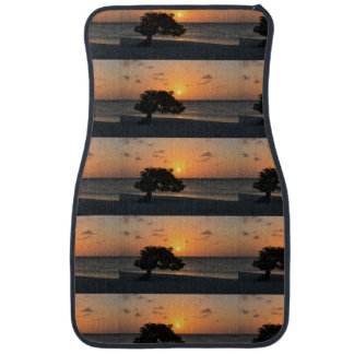 Eagle Beach Sunset Car Mat