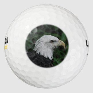 Eagle Beaked agudo Pack De Pelotas De Golf
