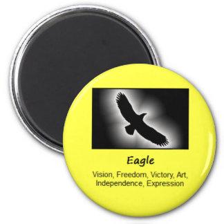 Eagle Bird Totem Animal Spirit Meaning Magnet