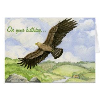 Eagle birthday card