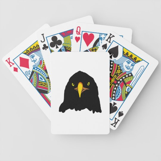 eagle black bicycle playing cards