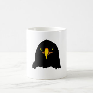 eagle black coffee mug